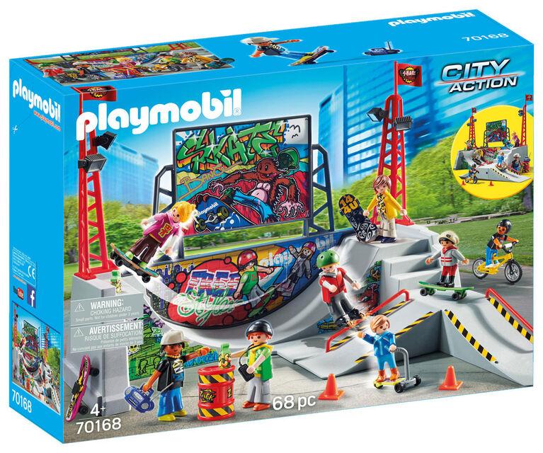 Playmobil - Skatepark et rampe