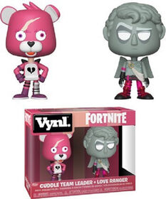 Figurine en vinyle Cuddle Team Leader et Love Ranger par Funko Vynl!.
