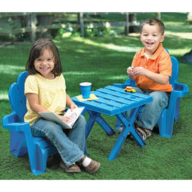 Adirondack Table and Chair Set