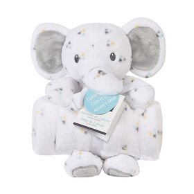 Baby's First By Nemcor Oversize Cuddle Buddy - Elephant
