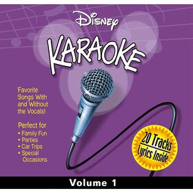 CD-Karaoke Disney Vol 1