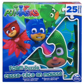 PJ Masks 25-Piece Foam Puzzle