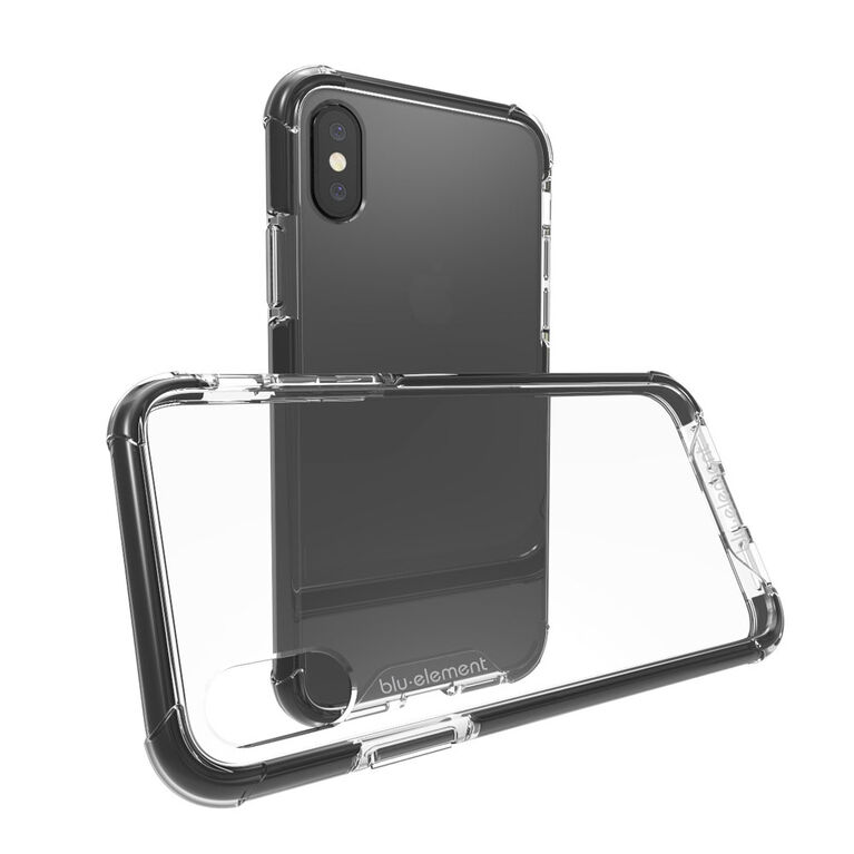 Blu Element Étui DropZone Rugged pour iPhone XS/X Noir (BDZI8B)