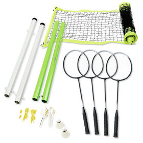 Viva Active 4 Player Intermediate Badminton Set