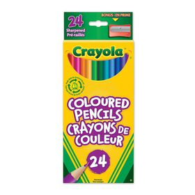 Crayola Coloured Pencils, 24 Ct