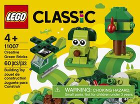 LEGO Classic Briques créatives vertes 11007