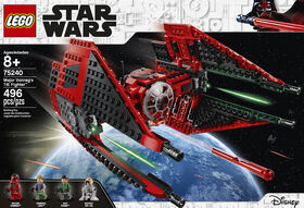 LEGO Star Wars  Le chasseur TIE de Major Vonreg 75240
