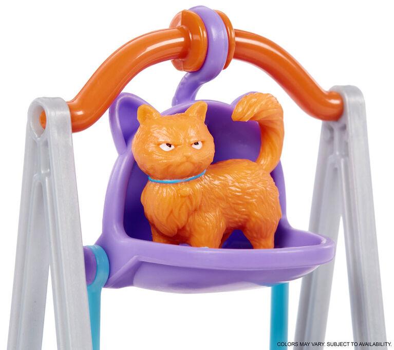 Polly Pocket Wash 'n' Wag Pet Swing