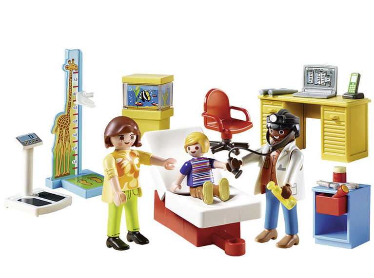 Playmobil Starter Pack Pediatrician'S Office 70034