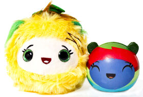 Furzerts Scented Cuddle Cups - Pinetop Posie Plush & Squishie TyeDye Jerry