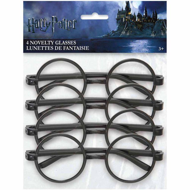 Harry Potter Lunettes De Fantaisie, 4 Paquet