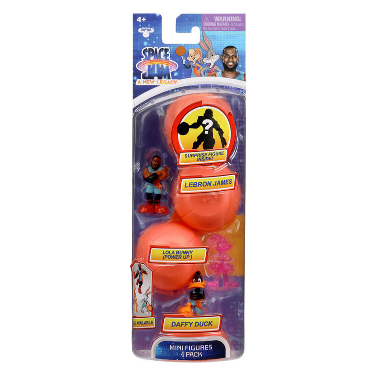 Space Jam: A New Legacy Season 1 Figure 4 Pack - Tune Squad + Starting Line Up