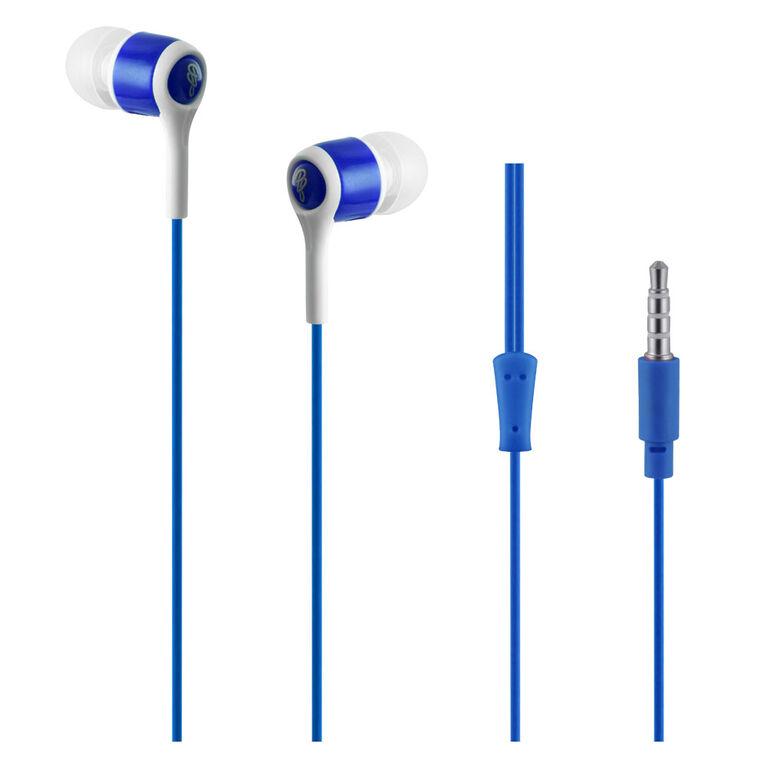 Pro Bass - Se'rie Fanfaron - Aux E'couteurs avec Micro - bleue