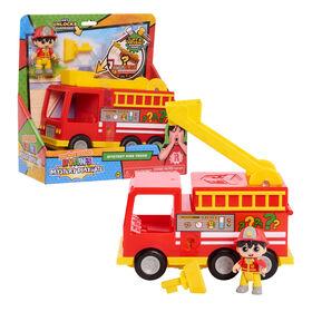 Ryan's Mystery Playdate Mystery Fire Truck - English Edition