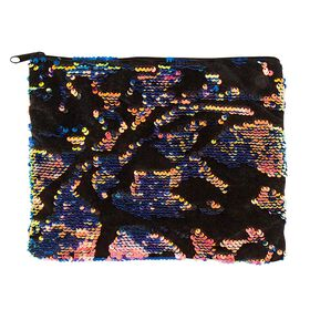Scattered Magic Sequin & Velvet Pouch