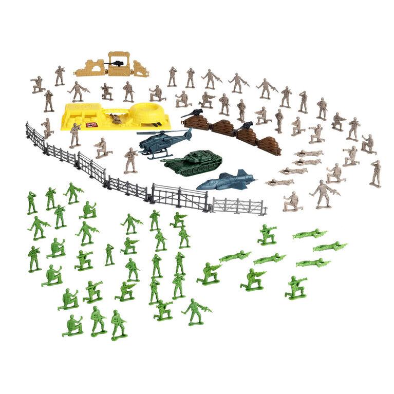 Soldier Force - Seau de 100 soldats - Notre exclusivité