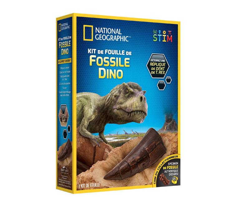 National Geographic - Trousse d'excavation de fossiles de dinosaures