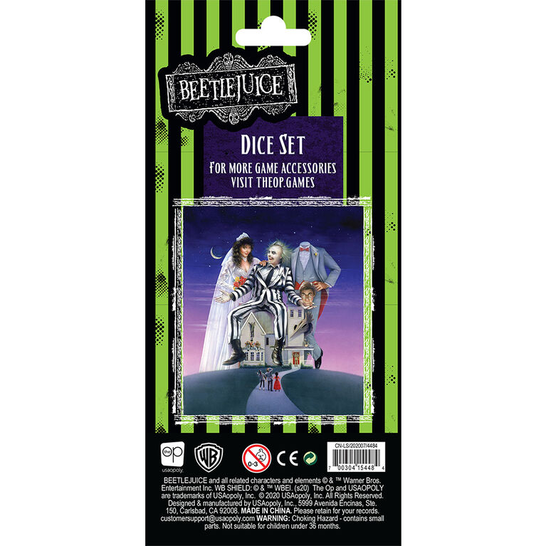 Beetlejuice Dice Set - English Edition