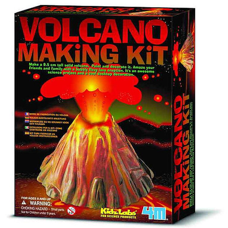 4M Volcano Making Kit - English Edition