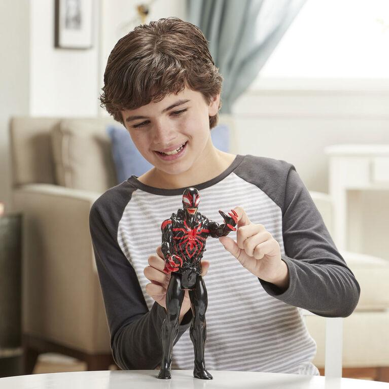 Spider-Man Maximum Venom Titan Hero - Figurine Miles Morales