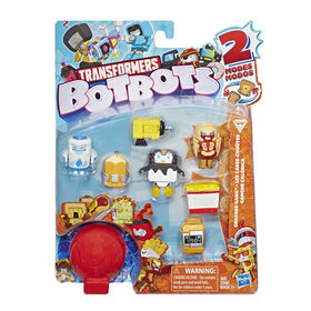 Transformers BotBots Toys Series 1 Greaser Gang 8-Pack