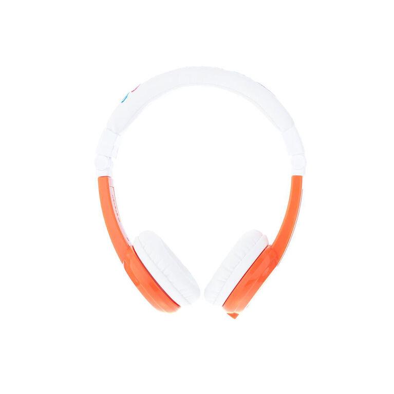BuddyPhones Explore Fold w/ Mic, Orange