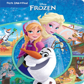 Frozen My First Look And Find - English Edition