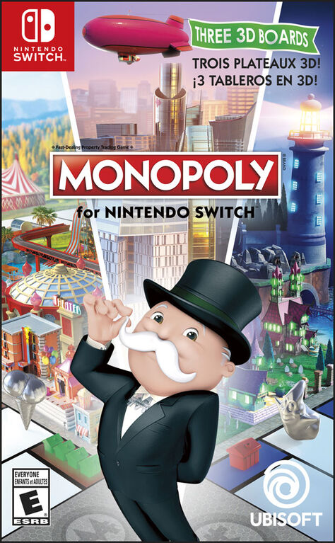 Nintendo Switch - Monopoly