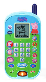 VTech Peppa Pig Let's Chat Learning Phone - English Edition