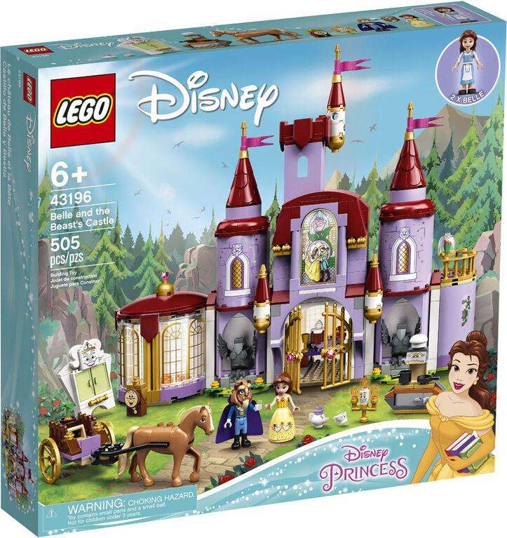 LEGO Disney Princess Le château de la Belle et la Bête 43196