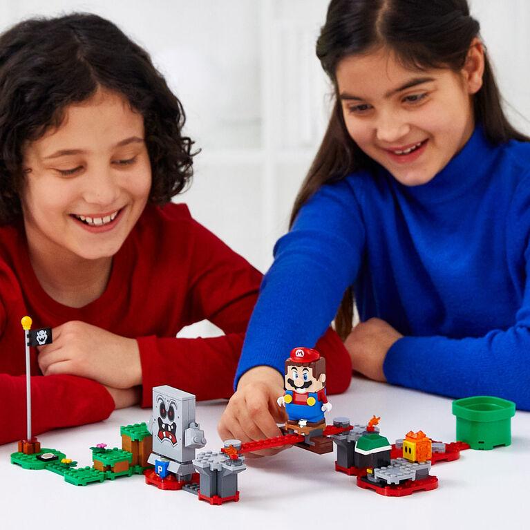 LEGO Super Mario Whomp's Lava Trouble Expansion Set 71364 - English Edition