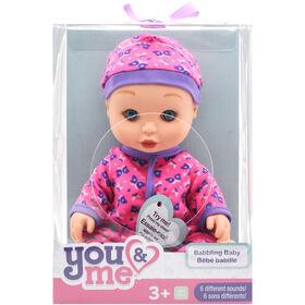 babillage bébé 10 pouces - You & Me. - Édition anglaise