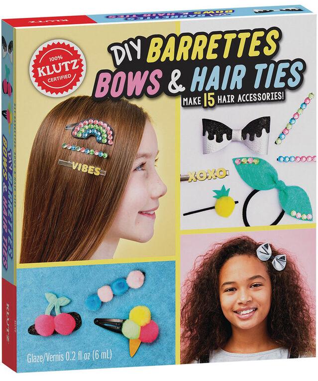 Klutz - DIY Barrettes and Bows