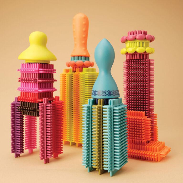 B. Toys Bristle Block Stackadoos Building Set