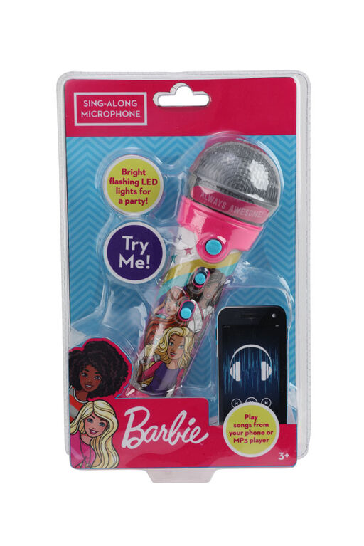 Barbie Sing Along Microphone