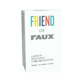 Pressman Toys: Friend or Faux Game - English Edition