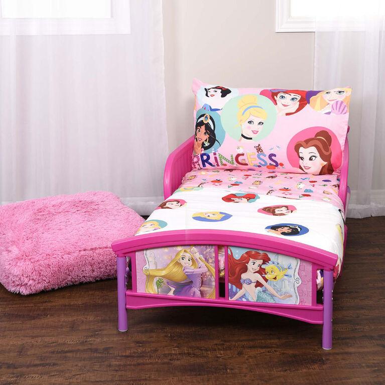 Disney Princess ensemble de 3 pieces de literie pour lit de tout-petit