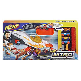 Nerf Nitro DoubleClutch Inferno Set