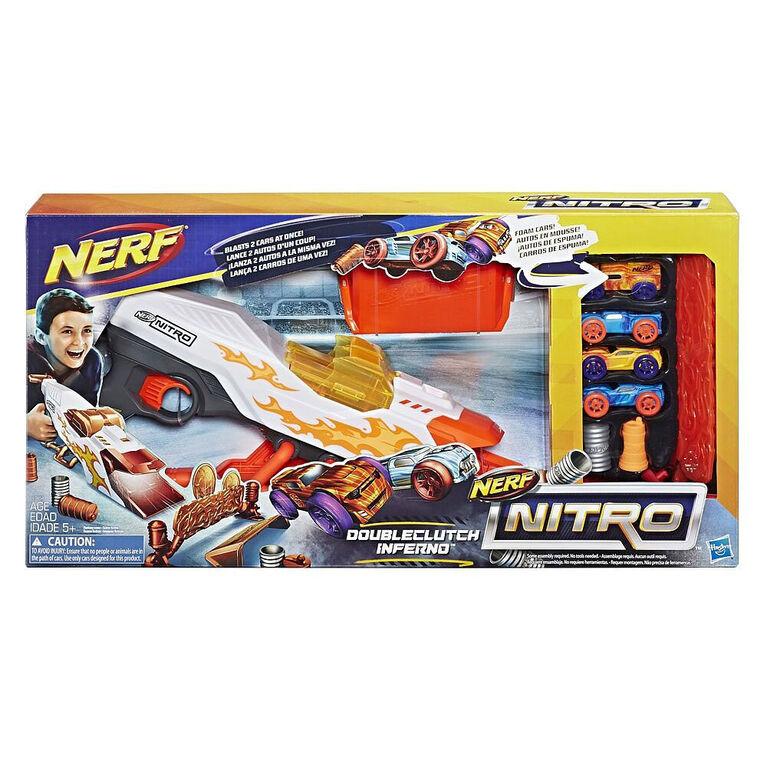 Nerf Nitro DoubleClutch Inferno Set