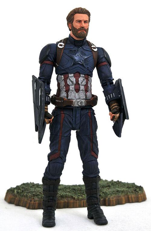 Marvel Select Avengers 3 Captain America Action Figure