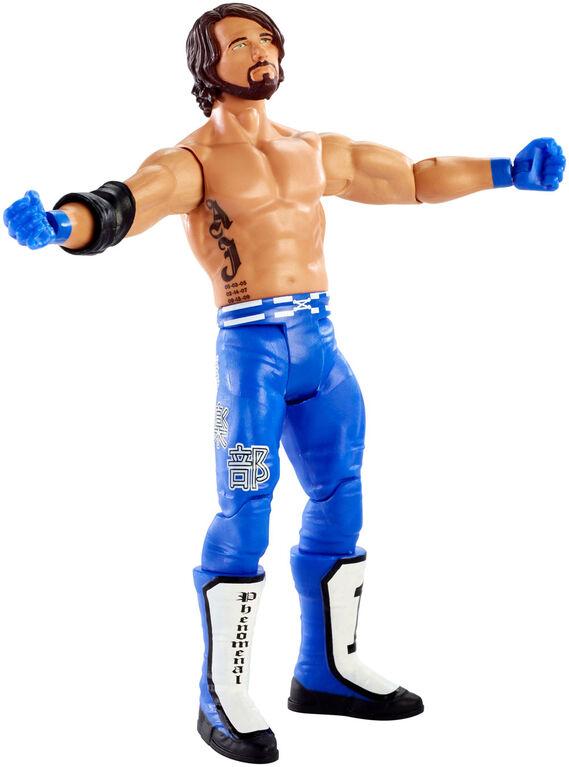 WWE - Coffret Fan - Figurine articulée - AJ Styles.