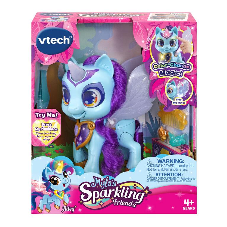 VTech Myla's Sparkling Friends Riley the Unicorn - English Edition