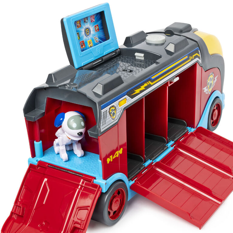 PAW Patrol Mighty Cruiser, Camion avec 3 véhicules et effets sonores