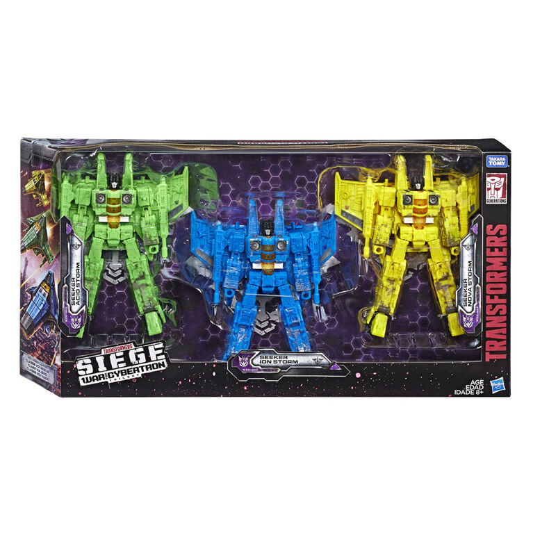 Transformers Generations War for Cybertron Voyager Class Seekers 3-Pack  073876 - R Exclusive
