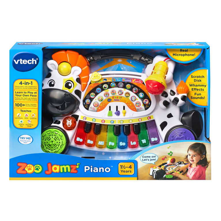 Zoo Jamz Piano - English Edition