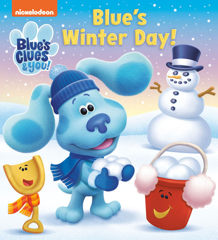 Blue's Winter Day! (Blue's Clue & You) - Édition anglaise