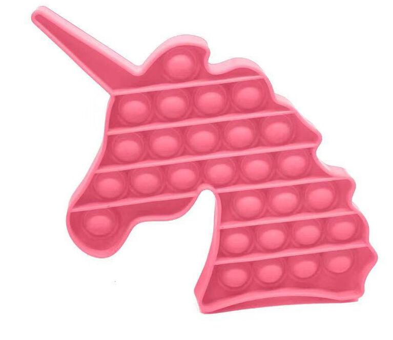 Push Pop Fidget - Licorne Rose