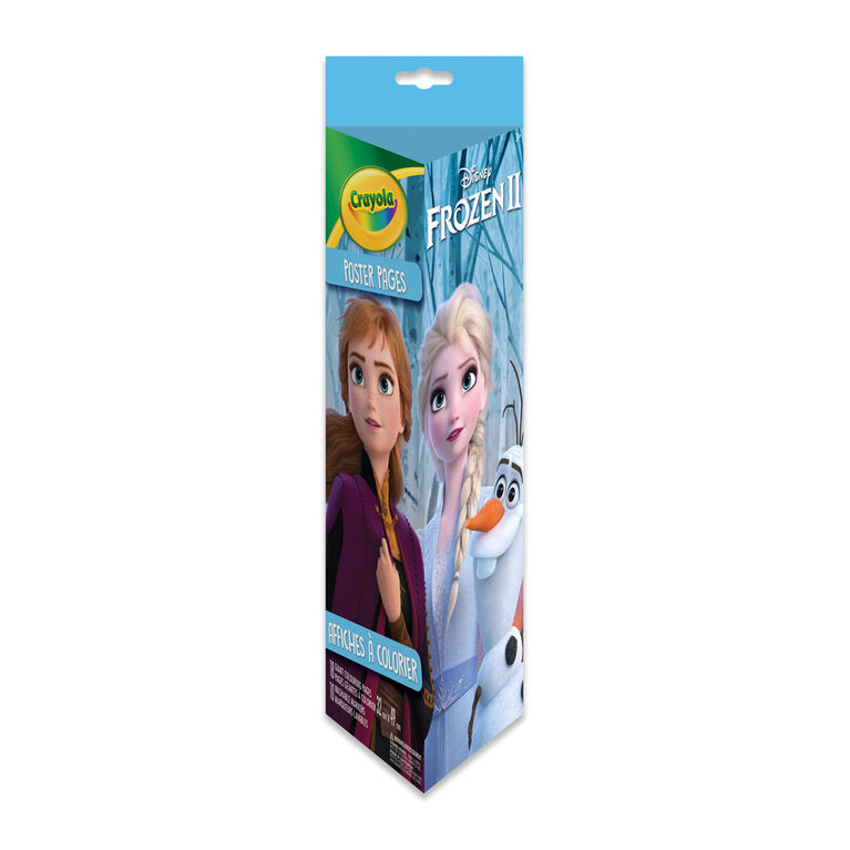 Crayola Giant Colouring Pages & Markers Set, Frozen 2