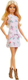 Barbie Fashionistas Doll #119 - Pink Pattern