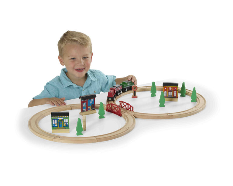 Imaginarium Express - Ensemble de train Figure en 8